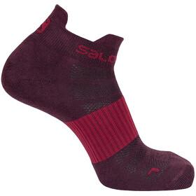 Salomon Sense Socks 2 Pack wine tasting/white